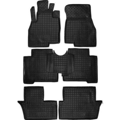 Коврики в салон Mitsubishi Grandis 2003-2012 /7месный/ черный, кт - 4шт, AVTO-GUMM, 11389  AVTO-GUMM