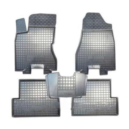 Коврики в салон Nissan X-Trail 2007-2014 черный, кт - 4шт, AVTO-GUMM, 11256  AVTO-GUMM