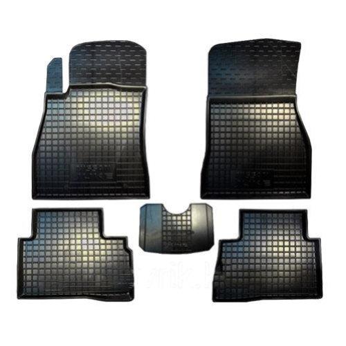 Коврики в салон Nissan Juke 2010-> черный, кт - 4шт, AVTO-GUMM, 11262  AVTO-GUMM