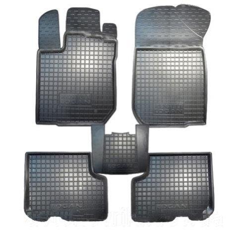 Коврики в салон Renault Logan 2013 -> черный, кт - 4шт Sedan, AVTO-GUMM, 11276  AVTO-GUMM