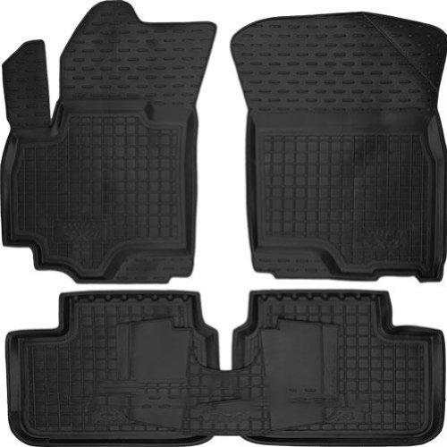 Коврики в салон Suzuki SX4 2013 -> черный, кт - 4шт, AVTO-GUMM, 11298  AVTO-GUMM