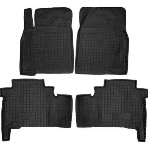 Коврики в салон Toyota Land Cruiser 200 2008 -> черный, кт - 4шт, AVTO-GUMM, 11311  AVTO-GUMM