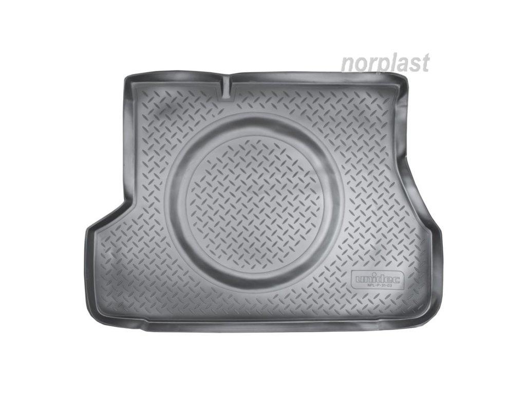 Коврик в багажник Hyundai Accent (LC) SD (01-06), NORPLAST, NPL-BI-31-03