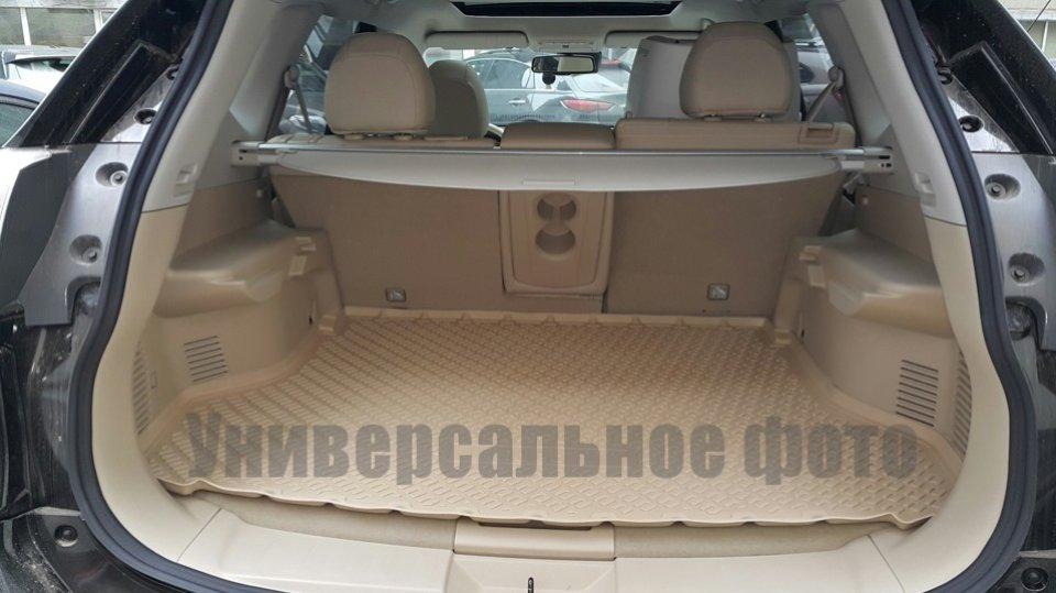 Коврик в багажник Infiniti QX56 (10-13)/QX80 (13-) полиуретановый беж, NORPLAST, NPL-P-33-77B