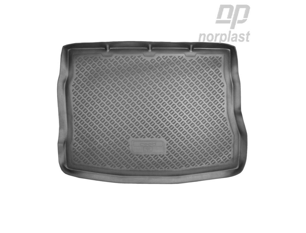 Коврик в багажник Kia Cee'd (ED)/ProCee'd HB (06-12), NORPLAST, NPL-BI-43-02