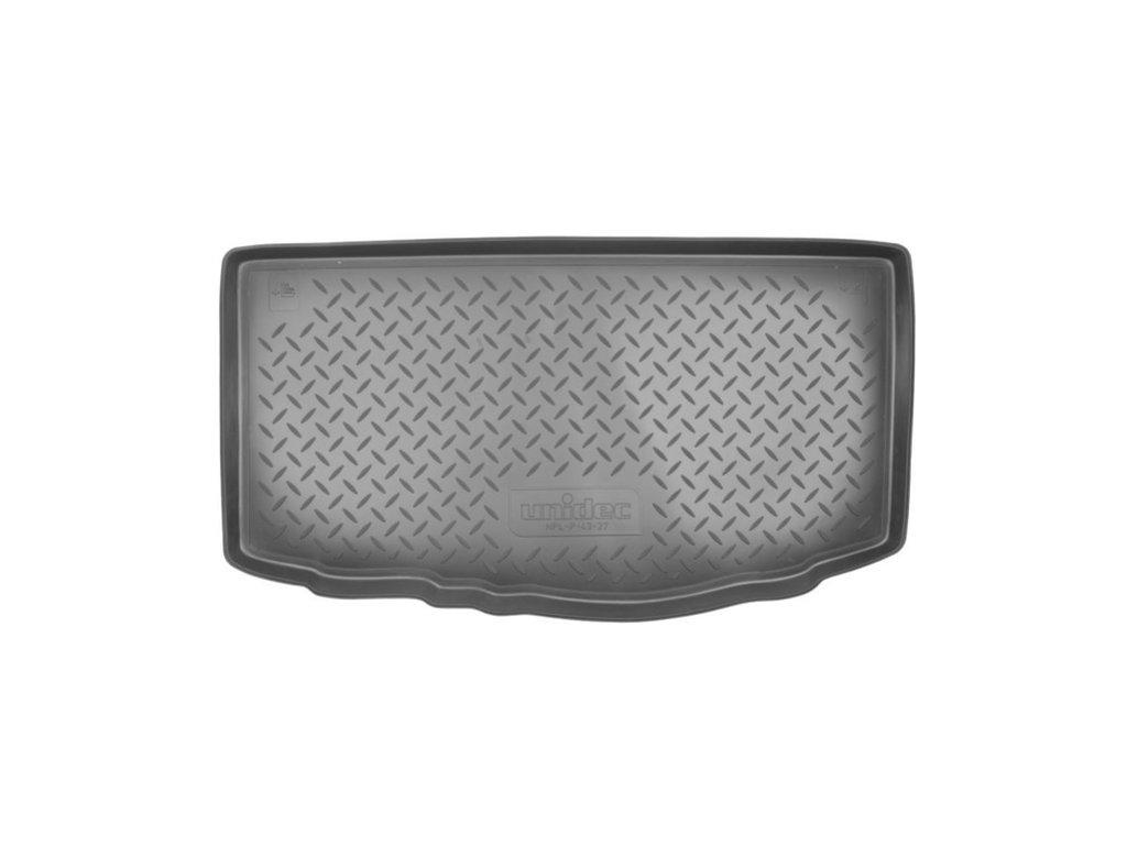 Коврик в багажник Kia Picanto (TA) HB (11-) полиуретановый, NORPLAST, NPL-P-43-27
