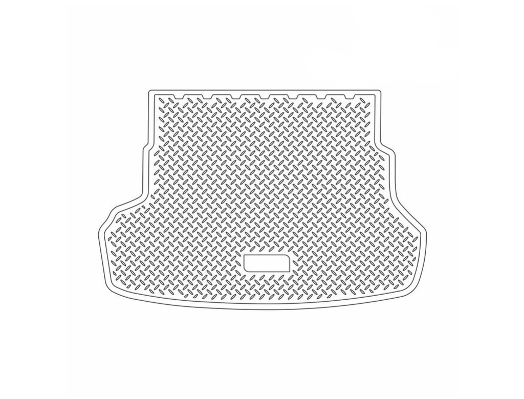 Коврик в багажник Kia Rio (QB) SD (11-) полиуретановый, NORPLAST, NPL-P-43-37