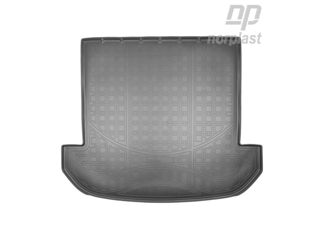 Коврик в багажник Kia Sorento (15-) полиуретановый (сложенный 3ряд), NORPLAST, NPA00-T43-653