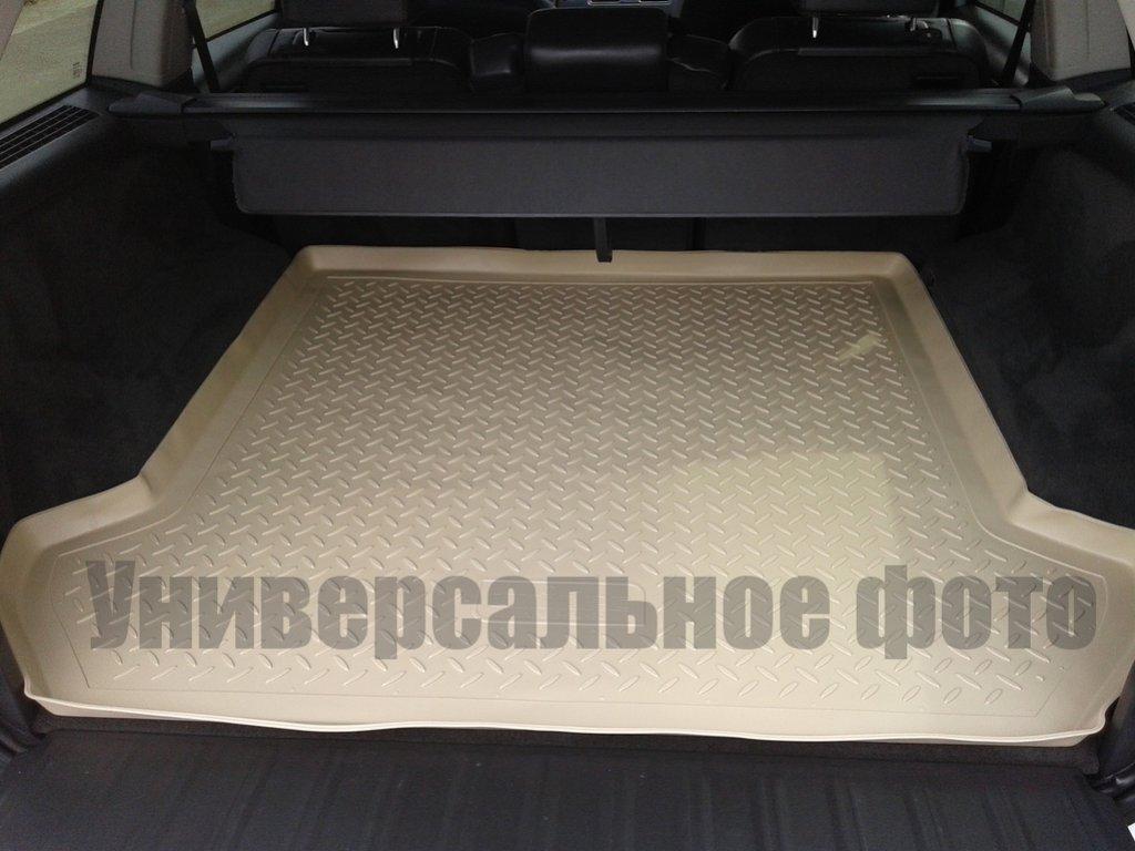 Коврик в багажник Land Rover Range Rover Evogue (11-) полиуретановый беж, NORPLAST, NPL-P-46-60B