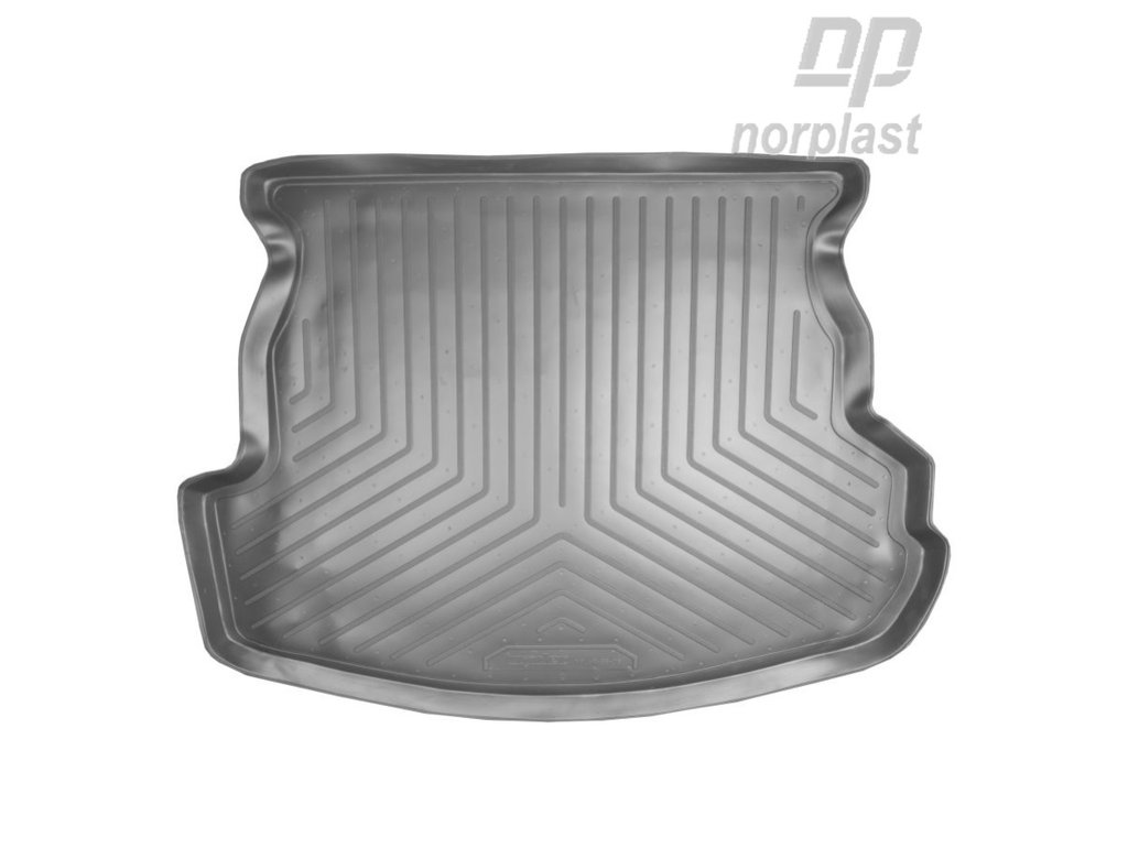 Коврик в багажник Mazda 6 SD (02-07) полиуретановый, NORPLAST, NPL-P-55-06