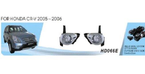Противотуманные фары Honda CRV (2005-)/эл.проводка, к-т 2 шт.
