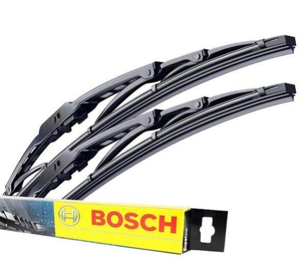 Комплект щеток стеклоочистителей BOSCH Twin 550/500