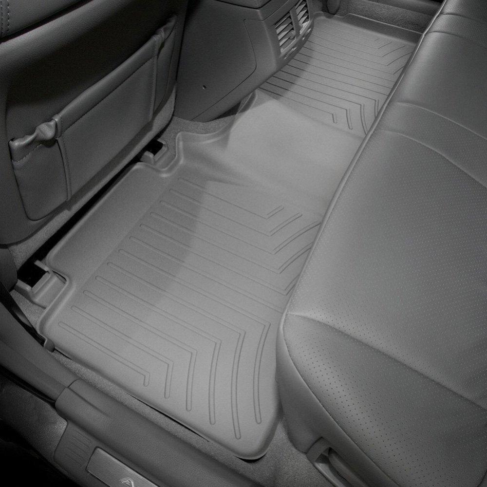 Коврики в салон Toyota Avalon 2005-12 с бортиком, задние, серые, WEATHERTECH, 461302
