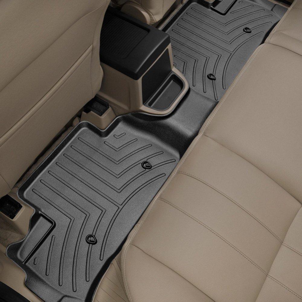 Коврики в салон Land Rover Freelander 2013- LR2 задние, черные (WT), WEATHERTECH, 445632