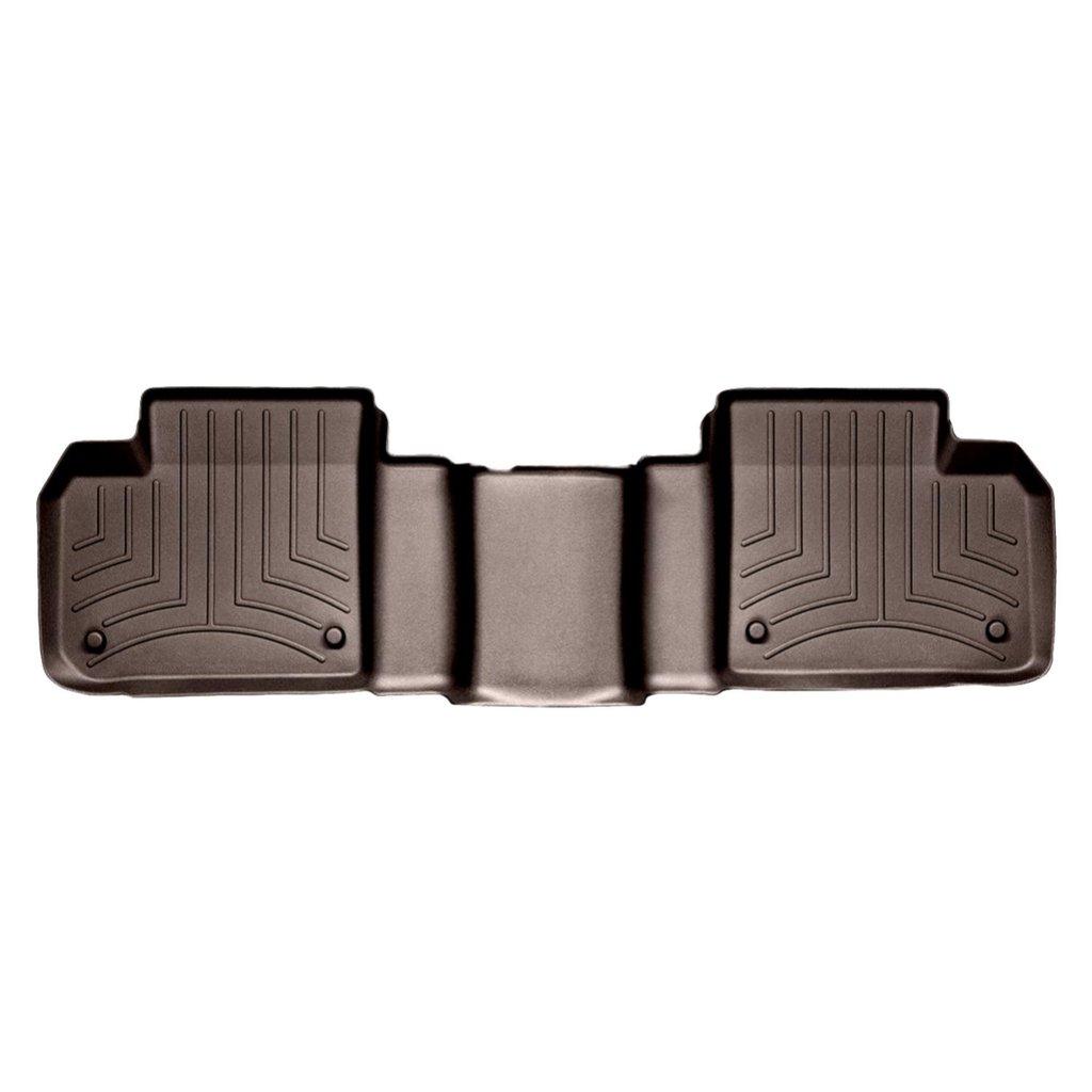 Коврики в салон Mercedes-Benz GL/ML classe 2012- с бортиком какао, задние, WEATHERTECH, 474012