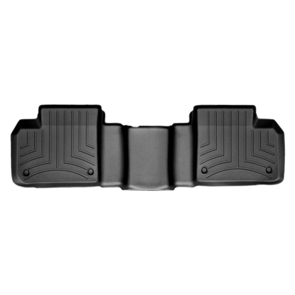 Коврики в салон Mercedes-Benz GL/ML class 2012- с бортиком черные, задние, WEATHERTECH, 444012