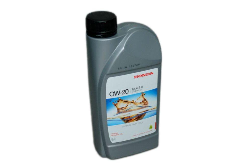 Масло моторное синтетическое Honda 0W20 Type 2.0 Europa, 1 л