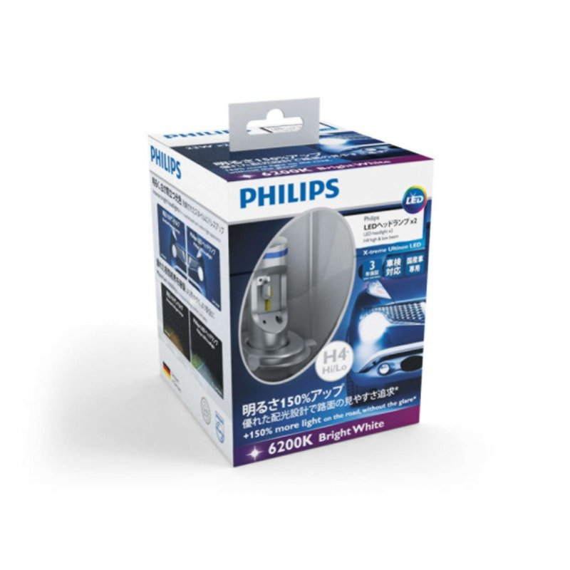 Лампа Philips X-treme Ultinon LED H4