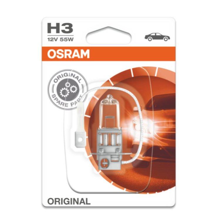 Лампа галогенная OSRAM H3 ORIGINAL LINE