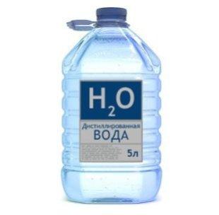 Вода дистилированая 5л