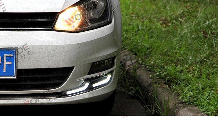 Автомобильный Ходовые огни VW Golf 7 2013- V3, AVTM, LED1377 - Интернет-магазин АвтоМода