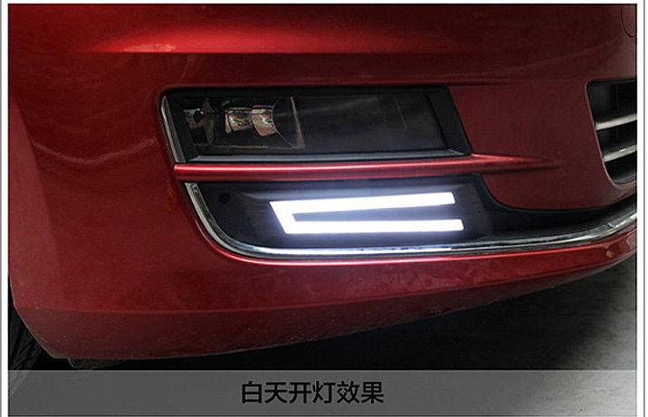 Автомобильный Ходовые огни VW Golf 7 2013- V2, AVTM, LED1376 - Интернет-магазин АвтоМода