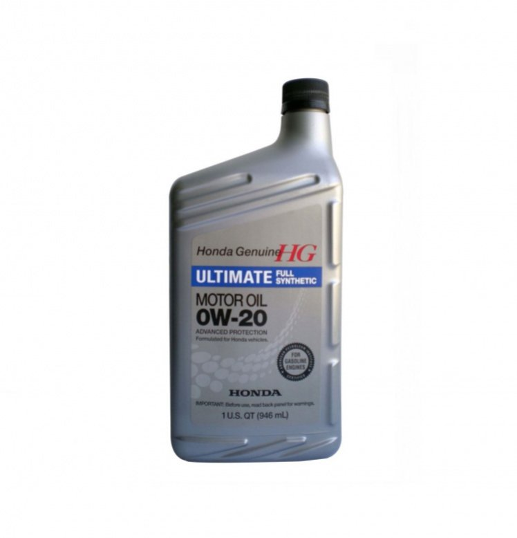 Масло моторное синтетическое Honda HG Ultimate 0W-20, 0.946 л, HONDA, 087989037