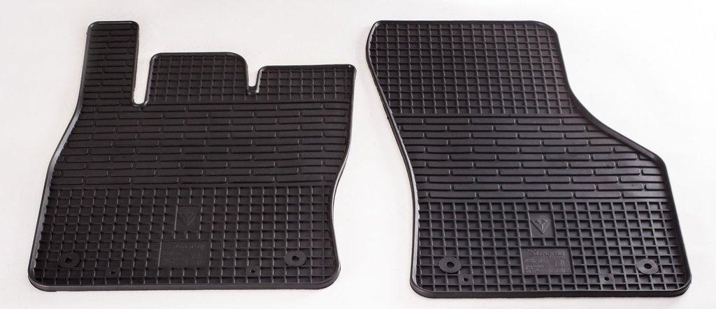 Коврики в салон Skoda Octavia A7 13-/ Volkswagen Golf VII 13-/Seat Leon III 12- (передние - 2 шт)