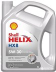 shell-600040400 Масло моторное синтетическоеSHELL HELIX HX8 SYNTHETIC 5W-30